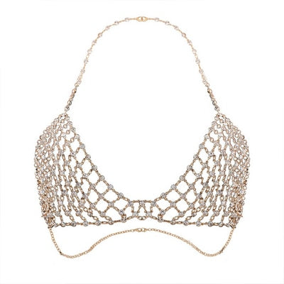 """Taika"" Bohemian Hollow Body Bra Chain - Glitzies Accessories"