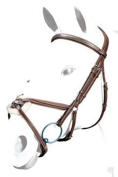 Equipe grackle bridle with Clinchered browband