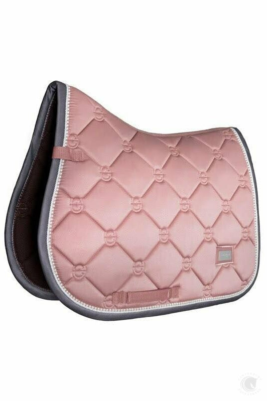 Equestrian Stockholm Jump Saddle Cloth Pink Pearl