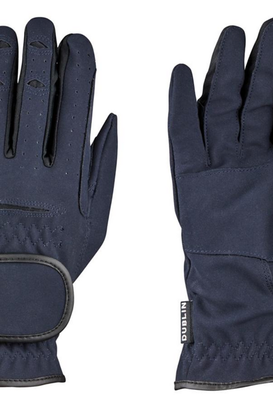 Dublin Might grip gloves -Navy or Black