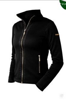 Equestrian Stockholm Black Gold Edition Fleece Jacket