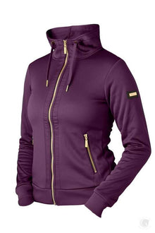 Equestrian Stockholm Purple Gold Fleece Jacket