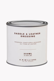 R M Williams Saddle Dressing 250ml