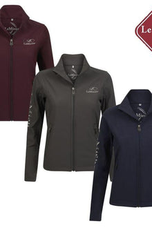Team LeMieux Soft Shell Jacket Grey or Navy