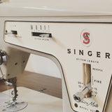 Vintage singer sewing machine that all Fire Sparks Creations accessories are made on