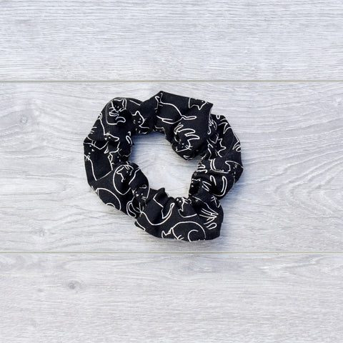 Black Cats Scrunchie