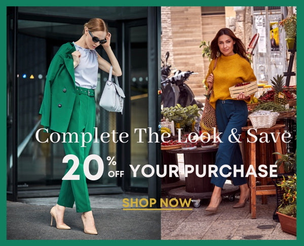 save 20% when you complete the look