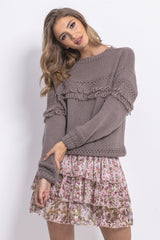 Fringe Sweater - LK's Boutique