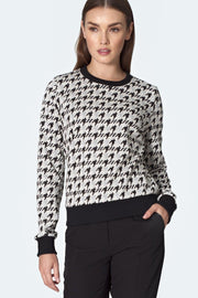 Houndstooth Top