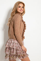 Ruffle Sweater - LK's Boutique