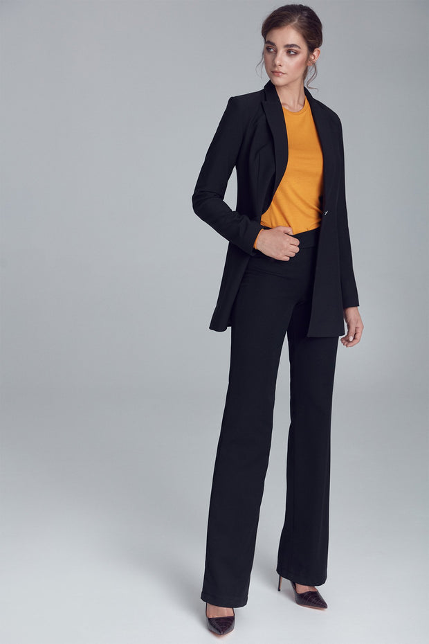 Black Suit Pants - LK's Boutique