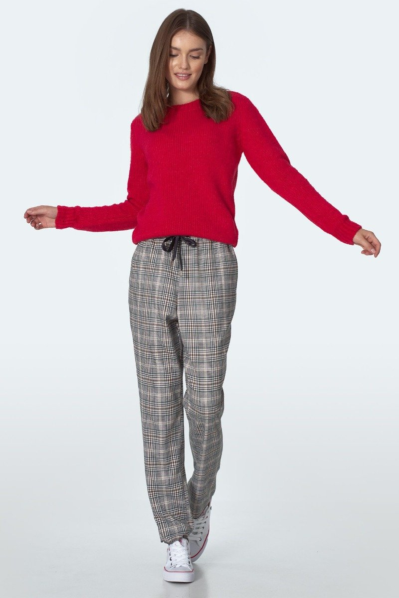 Green Plaid Pants - LK's Boutique
