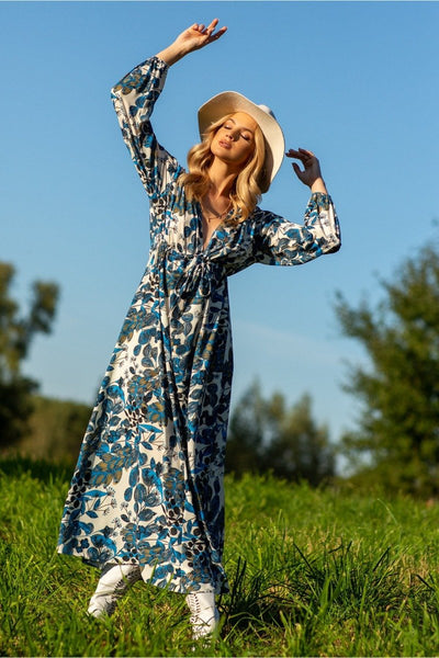 Floral Maxi Dress - LK's Boutique