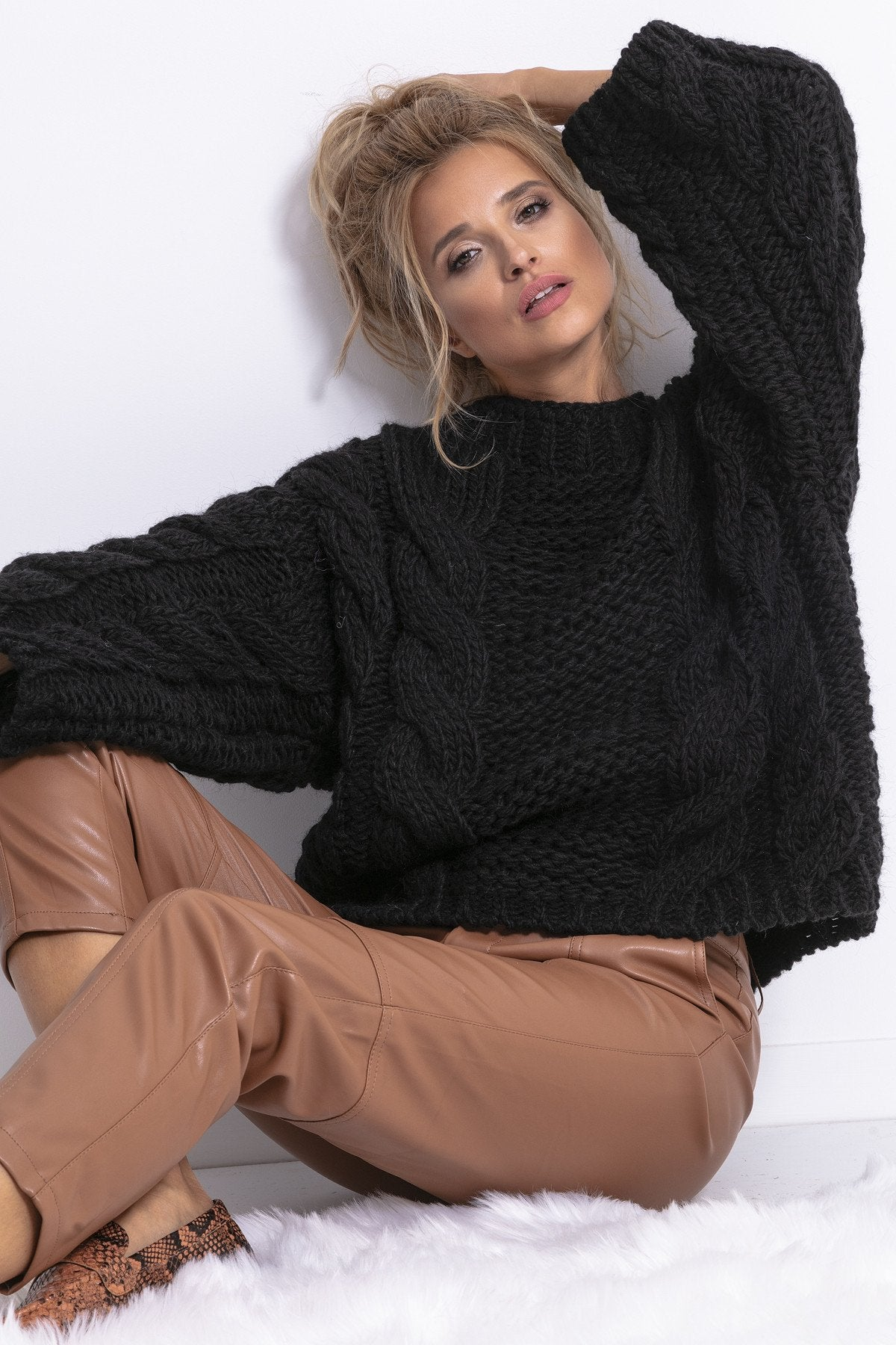 Chunky Knit Sweater - LK's Boutique