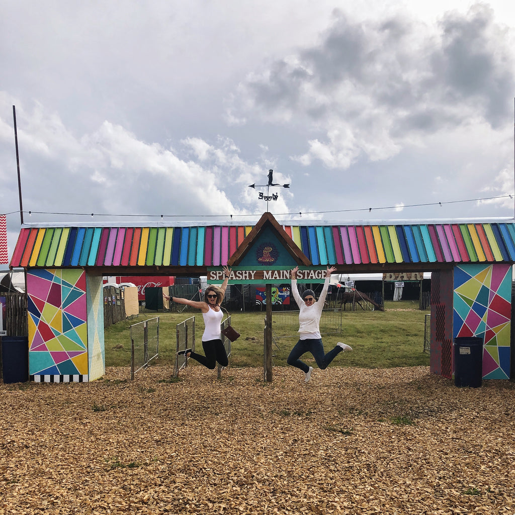 Silver Lining Gumboots Launch at Splashy Fen Festival
