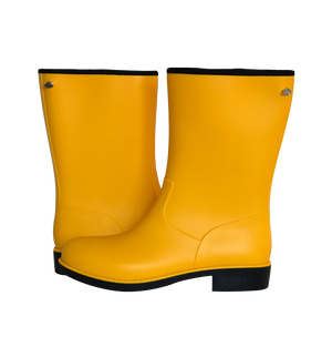 Cape Town Mid-Calf Yellow Gumboot