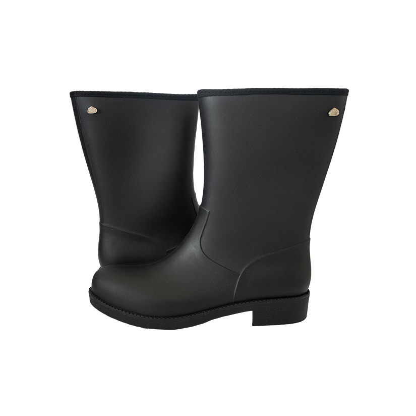 Westville Mid Length Black Ladies Gumboot