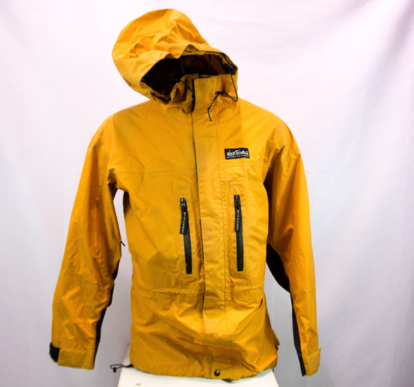 Wild Things Gear for Climbers Yellow Rain Shell, Men's L