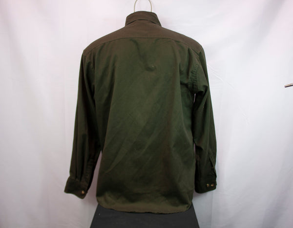 Fourcast Workwear Long Sleeve Shirt Green - Men's Large