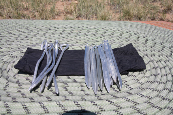 Set Of Tent Stakes