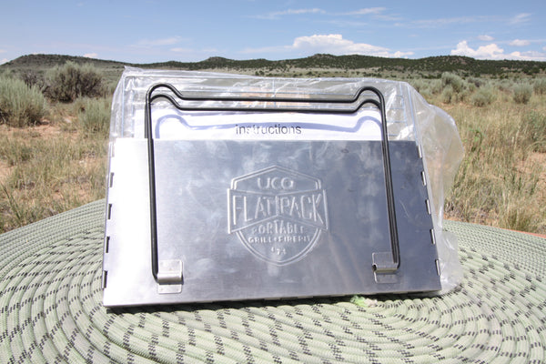 Uco Flatpack Camp Grill and Firepit