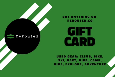 Rerouted Gift Card
