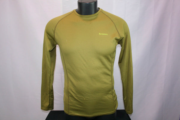 Simms Baselayer Green (Men's M)
