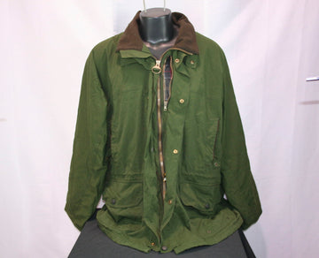 Barbour Waxed Cotton Jacket (Men's XL)