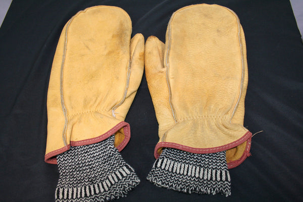 Leather Mittens (Men's XL)