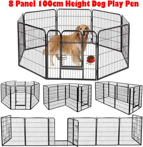 Dog play dog pen XL 80X100 8 Panel