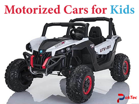 Motorized Cars for Kids - PAKTEC