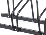 Bike Stand 3 Slots Black Cycle Rack Storage Rack Floor Mount - PAKTEC