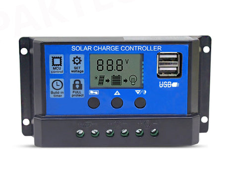 30A Solar Regulator Battery Charger Controller - PAKTEC