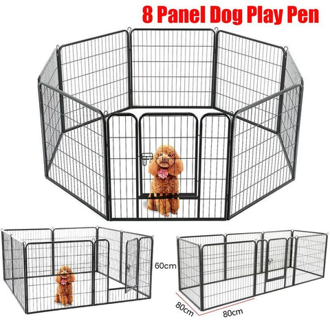 Pet pan 8 panel single door 80x60