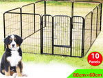 Heavy Duty Pet Play Pen (80 x 60cm)- 10 PANEL - PAKTEC