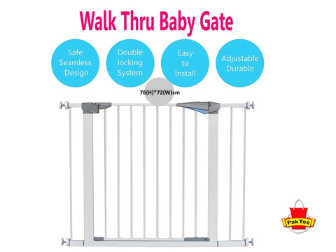 Walk Thru Baby Gate - PAKTEC
