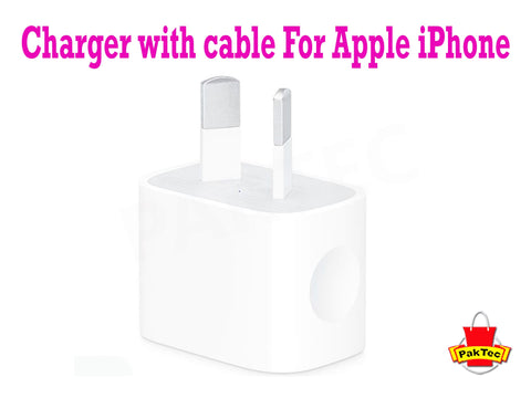 Charger for Apple Iphone - PAKTEC