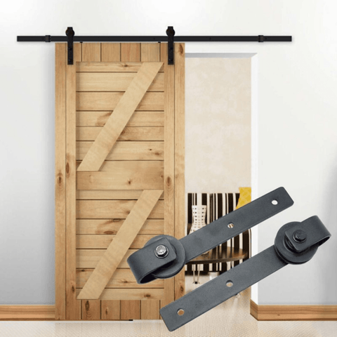 Barn Door Hardware Track 2.44M - PAKTEC