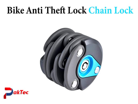 Bike Anti-Theft Chain Lock - PAKTEC