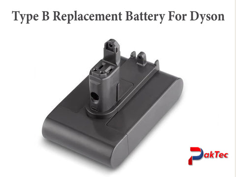 Lithium-ion Battery  For Dyson 3000mAh 22.2V Type B
