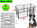 Double Door Pet Play Pen | Heavy Duty- 6 PANEL - PAKTEC