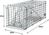 Large Animal Trap Possums Trap 94cm - Pro Version Cage Trap for cats stoats