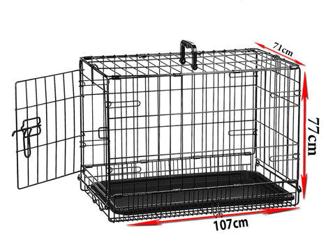 Single Door Pet Cage - 42 inches (XL) - PAKTEC