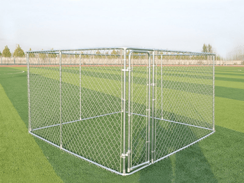 Dog Kennel and Run 2.3x2.3x1.22m - PAKTEC