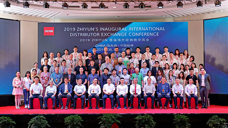 [1日目] 2019 ZHIYUN'S INAUGURAL INTERNATIONAL DISTRIBUTOR EXCHANGE CONFERNCE