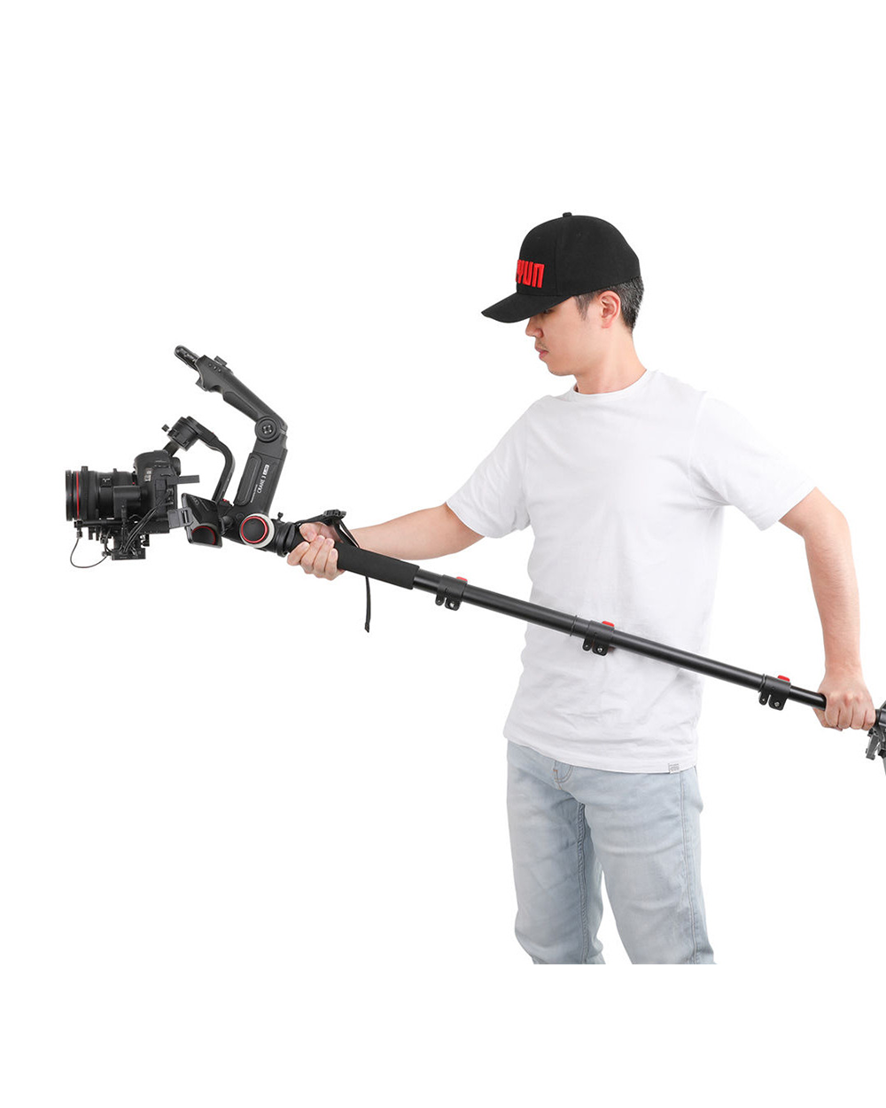 [アウトレット品] TransMount Telescopic Monopod with Locking Buckle
