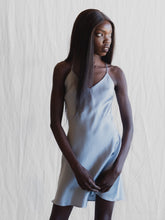 Load image into Gallery viewer, MS KENSINGTON - SHORT SILK SLIP - SYDNEY BLUE