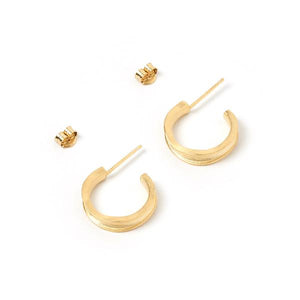 ARMS OF EVE -Lucy Gold Hoops - Australian Fashion and Accessories Boutique - Faid Store