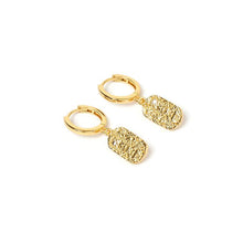 Load image into Gallery viewer, ARMS OF EVE - Mendoza Gold Huggie Earrings