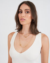 Load image into Gallery viewer, ARMS OF EVE - BOCA GOLD STACKING CHAIN NECKLACE